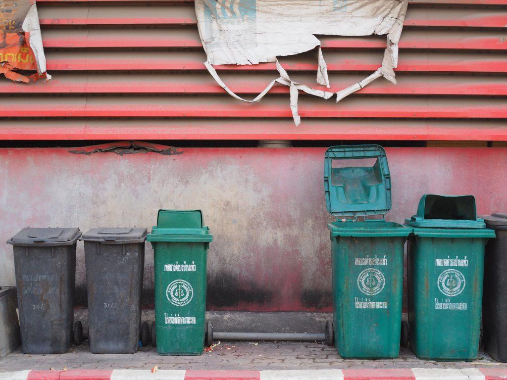 Cómo gestionar la basura para un viaje en furgoneta zero waste.
