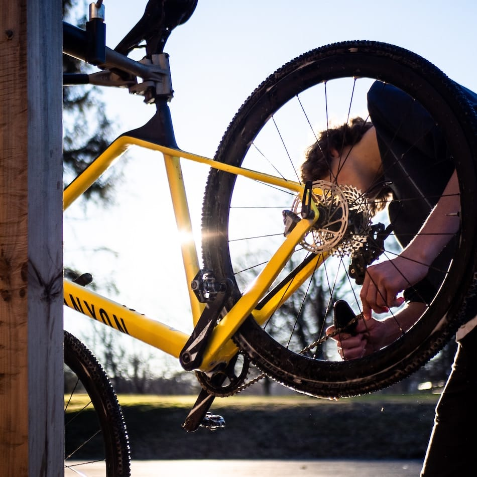 Mantenimiento de la bicicleta.