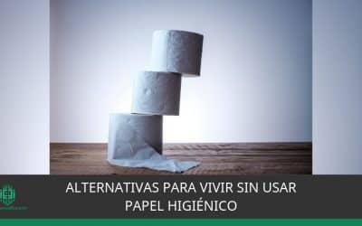 Alternativas para vivir sin usar papel higiénico