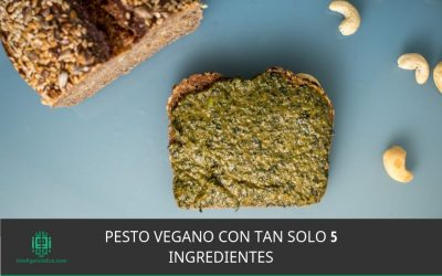 Pesto vegano con tan solo 5 ingredientes