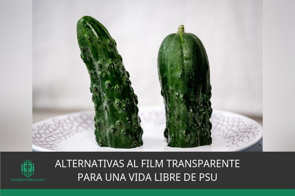 Alternativas al film transparente para una vida libre de PSU