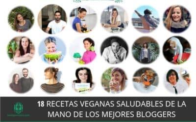 18 recetas veganas saludables de la mano de los mejores bloggers