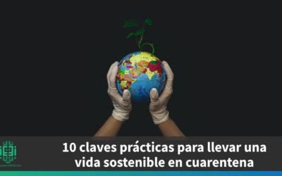 10 claves prácticas para llevar una vida sostenible en cuarentena