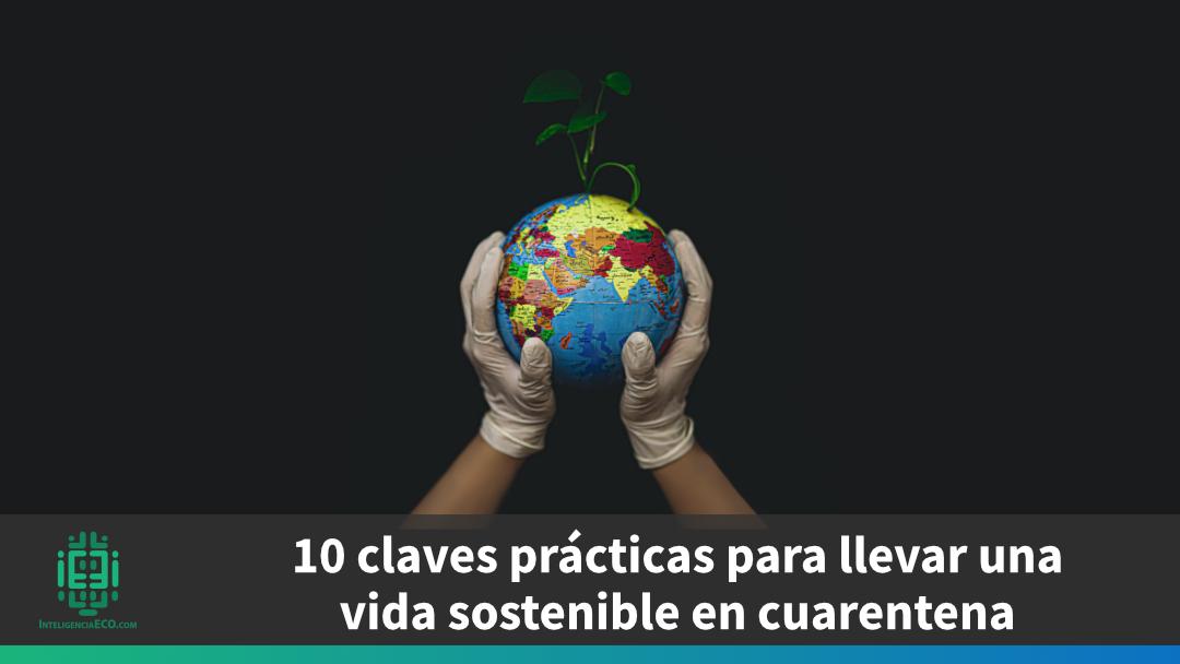10 claves prácticas para llevar una vida más sostenible en cuarentena