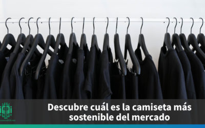 Descubre cuál es la camiseta más sostenible del mercado